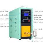 Elevadores eléctricos de alta freqüência de têmpera por indução máquina de equipamentos de aquecimento aquecedor por indução para 25kw