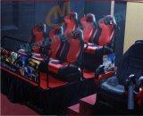 Кино домашней тележки передвижное 7D 5D гидровлической системы парка атракционов центра игры торгового центра кино электрической