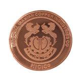 Plaqué or moulé Logo personnalisé Pièce de monnaie métallique en alliage de zinc