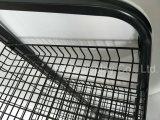 Supermarkt-kundenspezifischer Fußboden-stehende Metallrasterfeld-Regal-Speicher-Nahrungsmittel-und Getränkebildschirmanzeige-Zahnstange