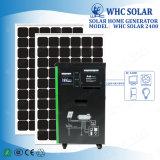 가정 응용 1500W 220V에 의하여 출력되는 태양 가정 발전기 시스템