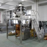 Le plantain automatique de peseur de Multihead ébrèche la machine à emballer