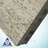라이트급 선수 5mm 돌 베니어 건물 벽 클래딩을%s 합성 알루미늄 벌집 위원회