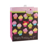 Подарка сувениров еды магазина торта дня рождения мешки померанцового бумажные