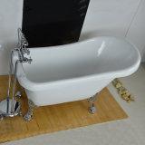 Autoestable Clawfoot acrílico acrílico bañera (BG-7011A)