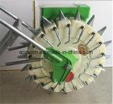 Tipo de inserción de mano manual portátil máquina sembradora de semillas pequeñas