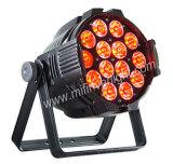 Het LEIDENE PARI kan 10W het Licht van het PARI van de LEIDENE RGBW Disco van het Stadium aansteken