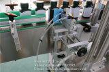 Fábrica automática da máquina de etiquetas do frasco redondo para lados diferentes
