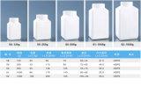 bottiglia di plastica dell'HDPE quadrato 1500g per medicina solida, il prodotto chimico e lo zoofarmaco