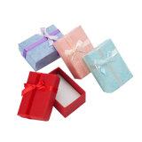 Joyero anillos Collar aretes de múltiples colores Caja de regalo