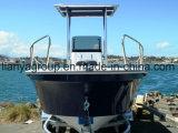 Fabricante aberto do barco da fibra de vidro do barco dos peixes de Liya
