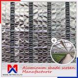Энергосберегающая 57%~75% внешняя алюминиевая сеть тени для температуры управления
