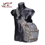 전술상 기어 나일론 어깨에 매는 가방 군 부대 Haversack 검정