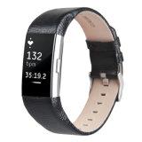 Чернота/планка вахты неподдельной кожи Brown на обязанность 2 Fitbit