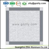 Hot vendre plafond en aluminium Conseil pour la décoration de plafond en verre dépoli
