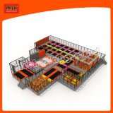 Новая конструкция детский батут на заводе
