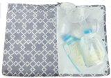 赤ん坊の託児所の布のおむつの組のためのステージングのマットが付いている取り外し可能なぬれた乾燥した袋胸ポンプ袋