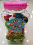 着色されたフットボールのフーセンガム8.5g