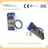 편리한 다중 채널 온도 스캐너 Portable (AT4204)