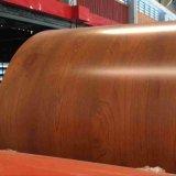 PPGI/bois d'acier galvanisé prélaqué bobine/feuille en aluminium à revêtement de couleur