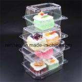 Kundenspezifischer Süßigkeit-Kuchen-Schokoladen-kosmetischer Duftstoff-Papverpackungs-Behälter-Kunststoffgehäuse-Kasten
