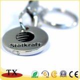 Metalleuroscheinlaufkatze-Schlüsselring-Münzen-Halter-Schlüsselkette