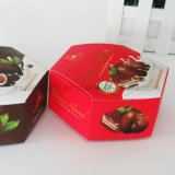 Vakje het Van uitstekende kwaliteit van het Document van de Chocolade van de Druk van Cmyk voor Snack/Chocolade