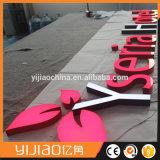 Большие светящие выделяющийся знаки и письма дела СИД акриловые