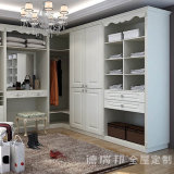 De Slaapkamer van de luxe/het Kabinet van het Meubilair van de Kast met het Kabinet van de Voorraadkast