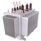 Transformateur d'alimentation toroïdal électrique de distribution immergée dans l'huile triphasée