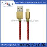 Mfi bestätigte Fabrik-Blitz-Kabel-Lederjacke iPhone Kabel USB-Aufladeeinheits-Kabel für iPhone X, 8, 7, 7 Plus, 6, 6s, 5, 5c, 5s, SE, iPad, das Nano iPod