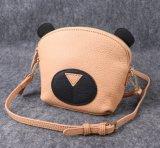 Saco de couro do couro pequeno, saco de ombro da panda