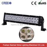 방수 처리하십시오 플러드 또는 반점 광속 72W 크리 사람 차 LED 표시등 막대 (GT31001-72CR)를