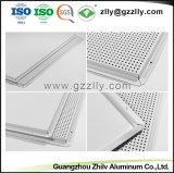Внутренней отделкой из алюминия акустические ложных панели потолка для управления