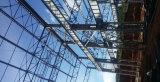 Vertientes industriales del almacén del taller de la estructura de acero
