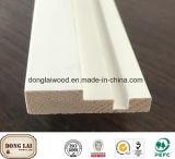 Home Dekoratives Material Türrahmen MDF Holz-Oberflächenformen für die Villa