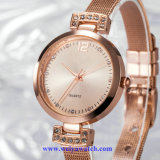 Montres de dames de Fashion Wist Watch Wistwatch d'OEM de coutume de Madame (WY-17021)