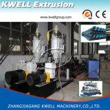 Máquina da tubulação da parede dobro do HDPE/linha onduladas da extrusão