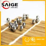 bola de acero inoxidable limpia del producto químico de la superficie AISI304 de 6m m