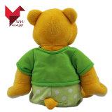 O costume da venda por atacado da fábrica de ASTM China encheu o brinquedo do urso da peluche com roupa