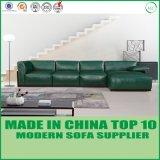 Freizeit-Wohnzimmer-echtes Leder-Sofa