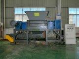 두 배 샤프트 낭비 산업 플라스틱 슈레더 기계