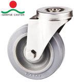 Le trou de boulon Panier Roulette, Roulettes en acier inoxydable