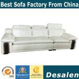 Modello il sofà del cuoio di prezzi all'ingrosso per mobilia domestica (962#)