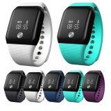 Le meilleur bracelet sec de vente de moniteur de l'oxygène de sang de montre de forme physique de fréquence cardiaque de bande de Pedometer de sport de Smartband A88+