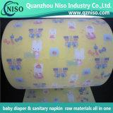 Matérias-primas de Fita Frontal mágico para fraldas para bebé