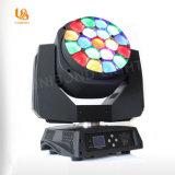 Spitzenstadiums-helles bewegliches Hauptlicht des verkaufs-LED der Beleuchtung-19*15W für Leistungs-im Freienlicht