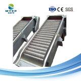 La pantalla de la barra giratoria mecánica en la rejilla de tratamiento de aguas residuales