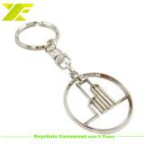 Anello chiave del metallo di marchio di Manufacurer Custom Company (KC07-B)