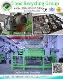 재생하는 폐기물 타이어 재생하는 기계장치 /Waste 타이어 분쇄 기계장치 제조자 분쇄